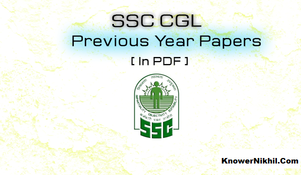 Ssc Cgl Solved Papers In Hindi Pdf